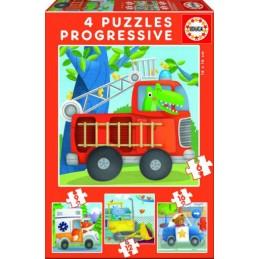 4 Puzzles progressivos...
