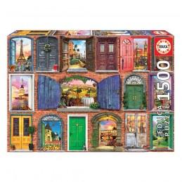 Puzzle Educa 1500 peças Portas da Europa