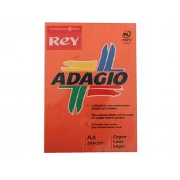 Resma adagio A4 80 Gr Vermelho