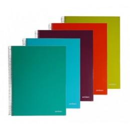 Caderno A5 Ambar 100fls Q