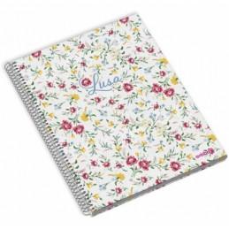 Caderno A5 120fls LUSA P