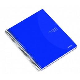 Caderno A5 80fls Azul