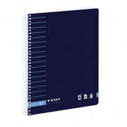 Caderno A5 80fls Quad.