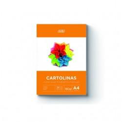Bloco A4 Cartolinas 180 grs