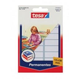 Etiquetas Tesa 13x38mm 900 unidades