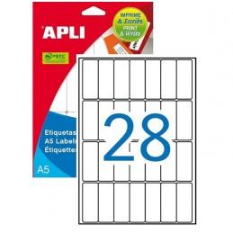 Etiquetas APLI 20x50 mm 420...