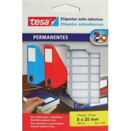 Etiquetas Tesa 20Fls 8x20...