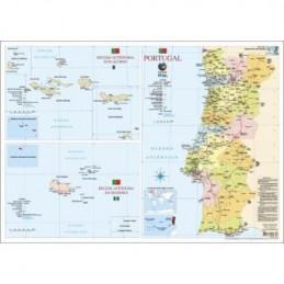 Mapa Portugal 55,5x39,5