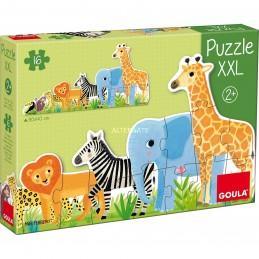 Puzzle XXL Goula Animais
