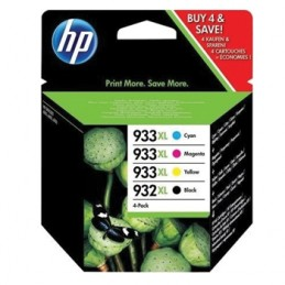 Pack tinteiros HP XL 933 + 932
