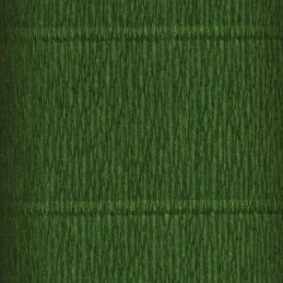 Papel Crepe verde musgo...