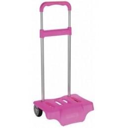 Carro para mochila rosa forte