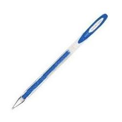 Esferográfica Gel Uniball Sparkling 0.7 azul