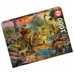 Puzzle Educa 1000 Dinossauros