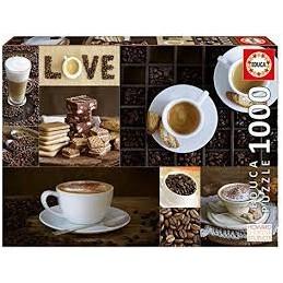 Puzzle Educa 1000 Café