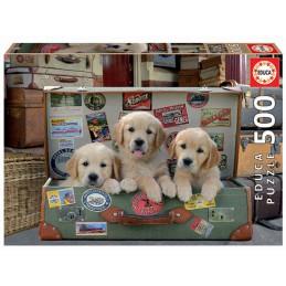 Puzzle Educa 500 cachorros