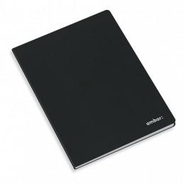 Caderno A4 Capa Preta Q