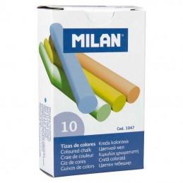 Caixa com 10 giz cor Milan