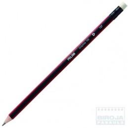 Lápis HB tirangular com...