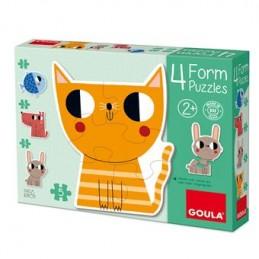 Quatro puzzles progressivos...