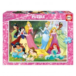 Puzzle 500 peças Princesas...