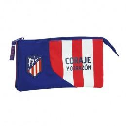 Porta Lápis triplo Atlético...