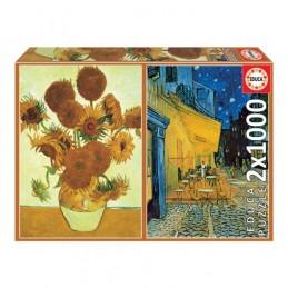 2 x Puzzle Educa 1000...