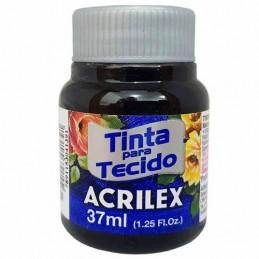 Acrilex tecido 37ml preto