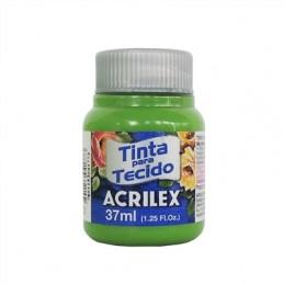 Acrilex tecido 37ml verde...