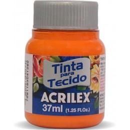 Acrilex tecido 37ml laranja...