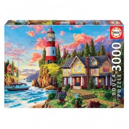 Puzzle Educa 3000 peças...