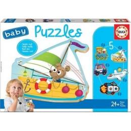 Jogo 5 Baby Puzzles...