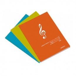 Caderno A4 de Música A4 Ambar