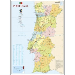Mapa Portugal Michelin 2017