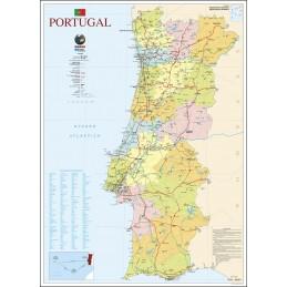 Mapa de Portugal 80,5 x...