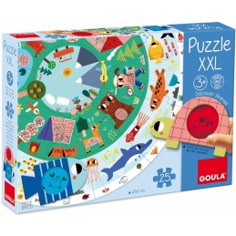 Puzzle XXL Goula descobre...