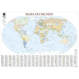 Mapa Mundo plastificado...