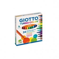 Caixa 24 Marcadores Giotto...