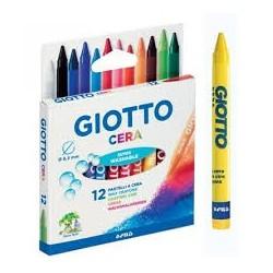 Caixa 12 Lápis Cera Giotto 8,5mm