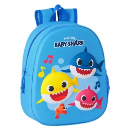 Mochila infantil 3D Baby Shark