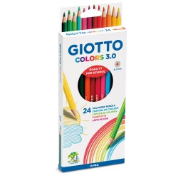 Caixa 12 lapis Giotto Colors 3.0mm