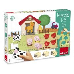 Jogo Puzzle Goula Apender a...