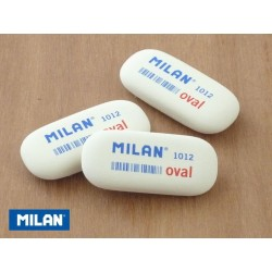 Borracha oval Milan 1012