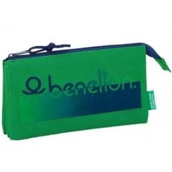 Porta Lápis triplo Benetton...