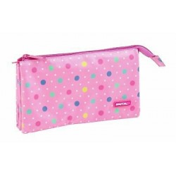 Porta Lápis Dots Pink