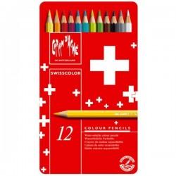 Caixa metálica 12 lápis...