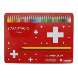 Caixa metálica 30 lápis...