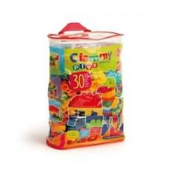 Jogo Construção Clemy Plus 30 pcs