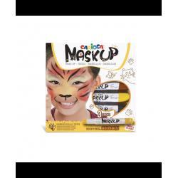 Caixa 3 batons pintura facial animais Carioca