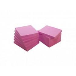 Bloco de notas aderente 75x75 Rosa